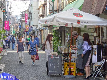 つつじまつりの根津八重垣商店街(2014-05-04)