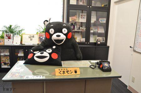 営業部長くまモンの部屋(2014年6月)