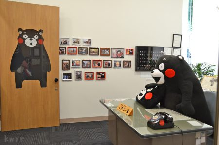 くまモンの部屋のドア(2014年6月)