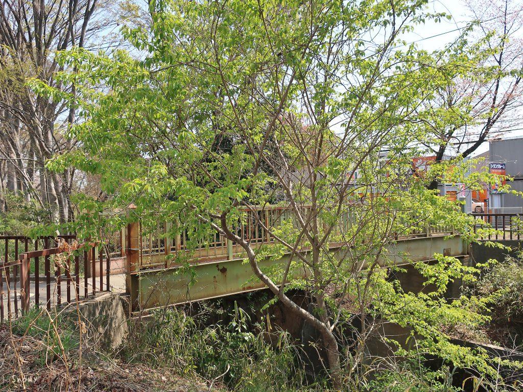 五日市街道から見た小桜橋