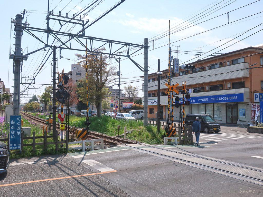 小平桜橋交差点
